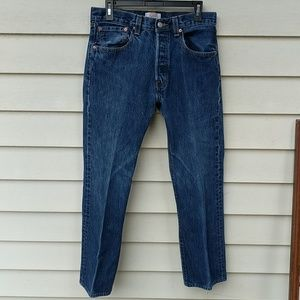 Levi's 501 Jeans 32 x 32 Classic Button Fly